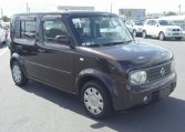 Nissan cube and nissan cubic supplied for sale fully UK registered direct from Japan
