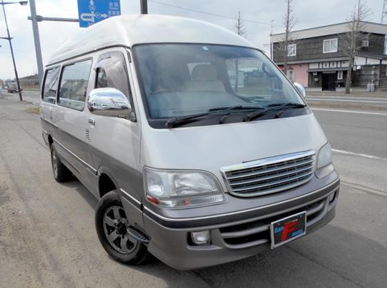 supplied for sale fully UK registered direct from Japan with V5 and Mot, algys autos best value Toyota Campervan in UK, fact!