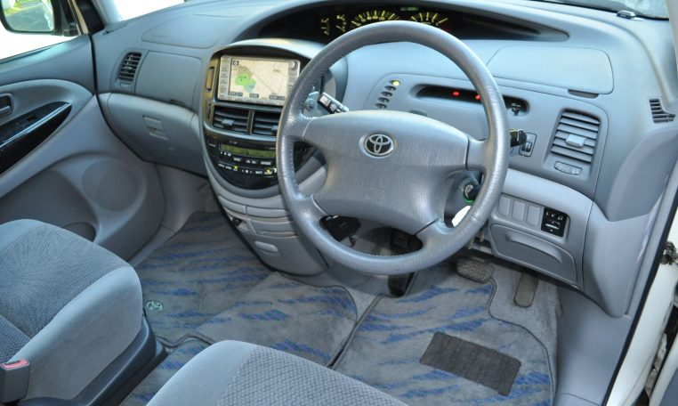 Toyota Estima hybrid supplied for sale fully UK registered direct from Japan with V5 and Mot