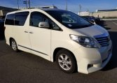 Toyota Alphard for sale UK