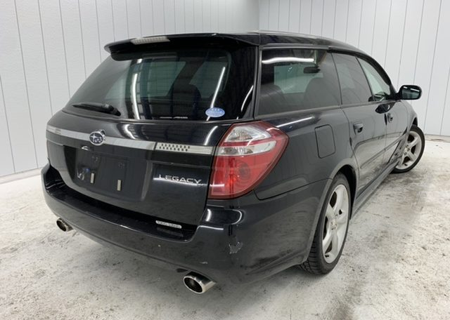Subaru Legacy Wagon supplied fully registered directly from Japan.
