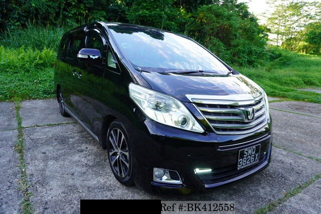Toyota Alphard supplied for sale fully UK registered direct from Japan with V5 and Mot, algys autos best value